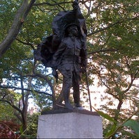 Photo taken at Abingdon Square Park by Dave S. on 5/31/2013