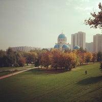 Das Foto wurde bei Парк «Борисовские пруды» von Vasiliy am 9/22/2012 aufgenommen