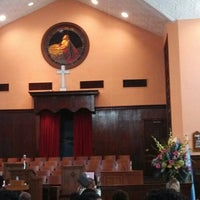 Photo taken at Ebenezer Baptist Church by Jen Y. on 7/28/2013