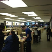 Photo taken at Apple Anchorage 5th Avenue Mall by Nate N. on 7/14/2013