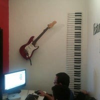 Photo taken at Estudio Liszt by Jonathan Enrique C. on 7/20/2014
