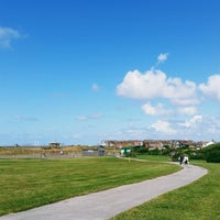 Photo taken at Thornton-Cleveleys by Nick B. on 7/5/2014