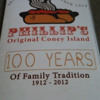 Photo taken at Phillip's Original Coney Island by Staci B. on 10/30/2012