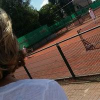 Photo taken at Tennis Club Duinbergen by Elisabeth D. on 8/20/2016