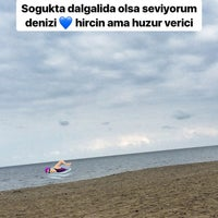 Photo taken at Efirli Plajı by Gülsüm on 9/5/2017