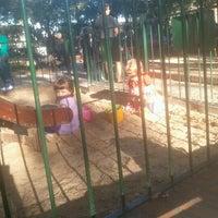 Photo taken at Plaza 9 de Julio by Yanel B. on 2/24/2013