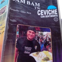 Photo taken at bam bam y su ceviche con sentimiento by Selene S. on 10/2/2014