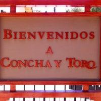 Photo taken at Viña Concha y Toro by Elza R. on 12/26/2012