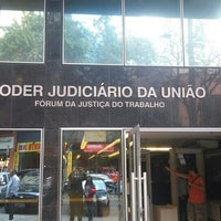 Photo taken at Tribunal Regional do Trabalho da 3ª Região by Ruy S. on 8/26/2015
