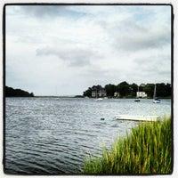Photo taken at Noyac Bay by Cheryl T. on 8/31/2013