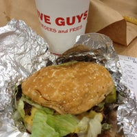 Photo taken at Five Guys by Nancy F. on 11/19/2012