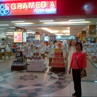 Photo taken at Gramedia by Agus V. on 1/23/2013