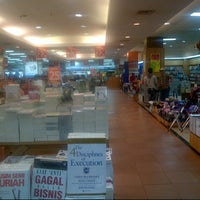 Photo taken at Gramedia by Agus V. on 1/1/2013