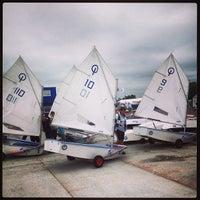 Снимок сделан в Яхт-клуб «Геркулес» пользователем Rybka 7/24/2013