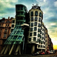 Photo taken at Dancing House by Andy E. on 11/26/2012