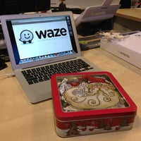 Photo taken at Waze by Andy E. on 12/18/2012