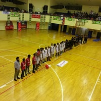 Photo taken at Social Centre Indoor Court by Alicio N. on 2/28/2014