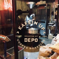 Foto tomada en Depo Coffee Roasting por Serkan Ş. el 9/5/2018