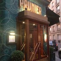 Photo taken at Restaurant Prunier by Natela on 9/7/2013