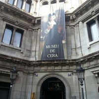 Photo taken at Museu de Cera de Barcelona by Toni S. on 7/3/2013