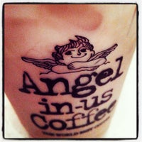 Photo taken at Angel-in-us Coffee by Jacqueline A. on 3/25/2014