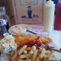 Photo taken at Cockney Kings Fish & Chips Ltd by HwaPyeong C. on 7/25/2013