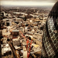 Photo taken at Duck & Waffle by Michael H. on 9/30/2012