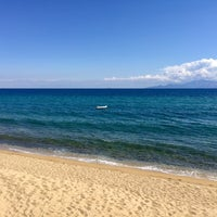 Photo taken at Palio Tsifliki Beach by Neli I. on 9/22/2017