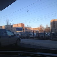 Photo taken at Лукойл АЗС №475 by Valeriya V. on 4/17/2013
