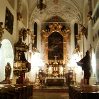 Photo taken at Church of Our Lady Beneath the Chain by Tadeáš K. on 11/1/2012