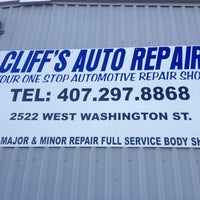 Photo taken at Cliff's Auto Repair by Jim on 10/1/2012