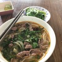 Photo taken at Bún Bò Huế Phước Tài by Miu on 9/11/2017