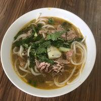 Photo taken at Bún Bò Huế Phước Tài by Miu on 8/13/2017