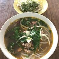 Photo taken at Bún Bò Huế Phước Tài by Miu on 8/1/2017