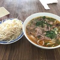 Photo taken at Bún Bò Huế Phước Tài by Miu on 8/18/2017