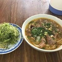 Photo taken at Bún Bò Huế Phước Tài by Miu on 6/16/2017