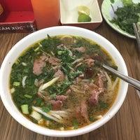 Photo taken at Bún Bò Huế Phước Tài by Miu on 8/26/2017