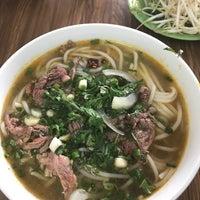 Photo taken at Bún Bò Huế Phước Tài by Miu on 5/3/2017