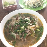 Photo taken at Bún Bò Huế Phước Tài by Miu on 8/10/2017