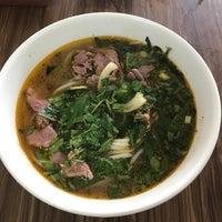 Photo taken at Bún Bò Huế Phước Tài by Miu on 6/28/2017