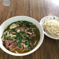 Photo taken at Bún Bò Huế Phước Tài by Miu on 8/22/2017