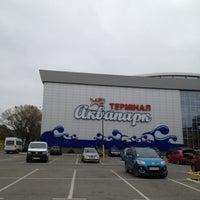 Снимок сделан в Аквапарк «Термінал» пользователем Valya 🌟✨ 10/14/2012