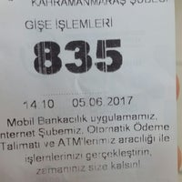 Photo taken at Ziraat Bankası by Veysel S. on 6/5/2017