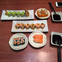 Photo taken at Sushi Tei by Rochelle A. J. on 2/13/2016
