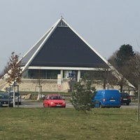 Photo taken at Autobahnkirche Baden-Baden by Michael H. on 3/1/2016