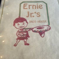 Photo taken at Ernie Jr's Taco House by Virgo on 6/25/2013