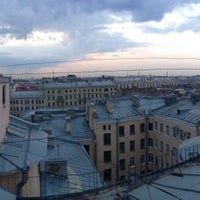 Photo taken at Крыша на Фурштатской by Valera R. on 6/1/2013