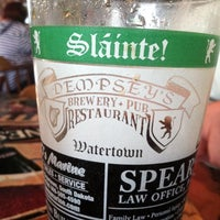 Photo taken at Dempsey's Brewery Pub & Restaurant by Elsa M. on 6/28/2014