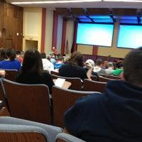 Photo taken at Morgan Hall at Cal U by Gabe on 11/14/2012