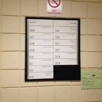 Photo taken at Morgan Hall at Cal U by Gabe on 12/7/2012